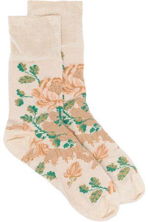 adidas Floral print ankle socks - Neutrals