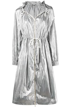 adidas Metallic hooded jacket