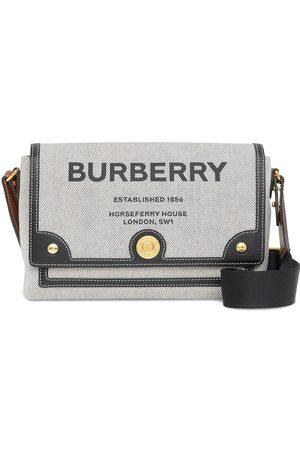 adidas Note Horseferry-print canvas crossbody bag