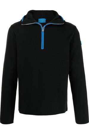 adidas Two-tone hooded jumper