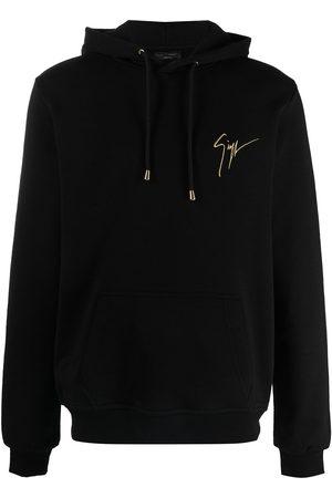 adidas Logo-print drawstring hoodie