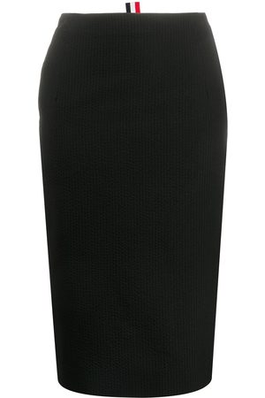Thom Browne Women Pencil Skirts - High-waisted pencil skirt - 001