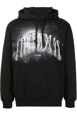 adidas Graphic-print fringed hoodie