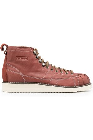 adidas Men Boots - Superstar leather boots