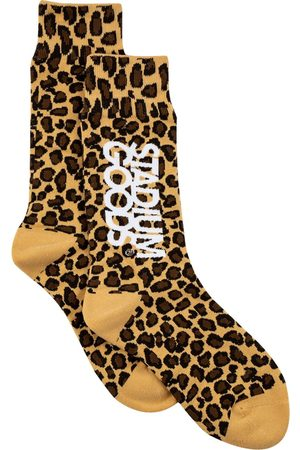 Stadium Goods Socks - Leopard-pattern socks