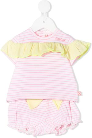 adidas Striped-print shorts set