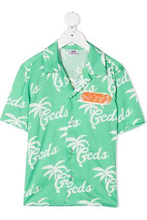 adidas Logo-print short-sleeved shirt