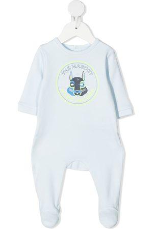 adidas Logo-print cotton pajamas