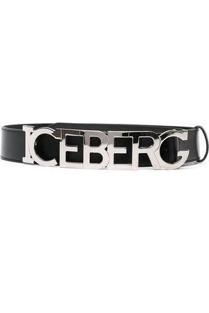 adidas Logo-letter leather belt