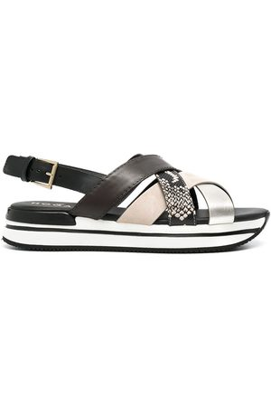 adidas Crossed strappy sandals