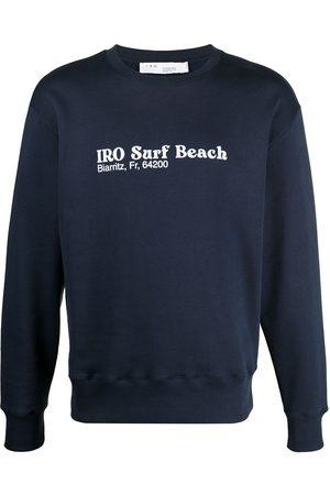 "adidas ""surf beach"" slogan sweatshirt"