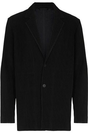 adidas Pleated single-breasted blazer