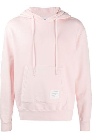 adidas Loopback garment-dyed hoodie