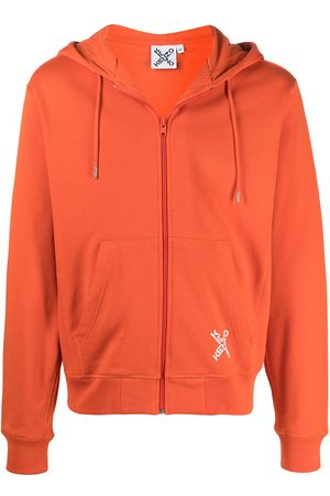 adidas Little X zipped hoodie