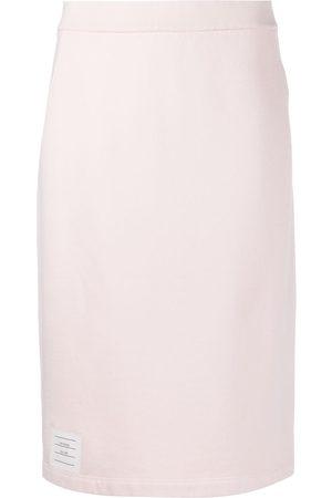 adidas Jersey cotton pencil skirt