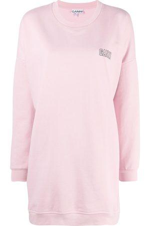 adidas Logo-embroidered oversized sweatshirt