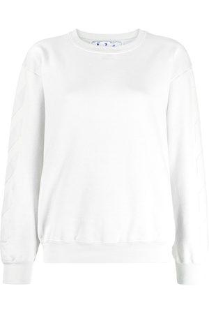 adidas Arrow logo-print sweatshirt