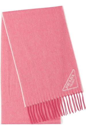 adidas Intarsia-logo scarf