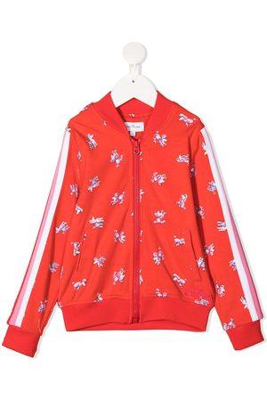 adidas Graphic-print bomber jacket