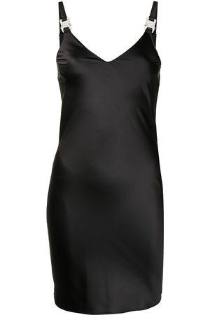 adidas V-neck buckle-fastening dress