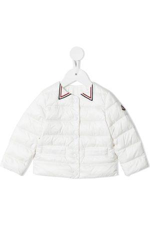 adidas Logo-trim padded jacket