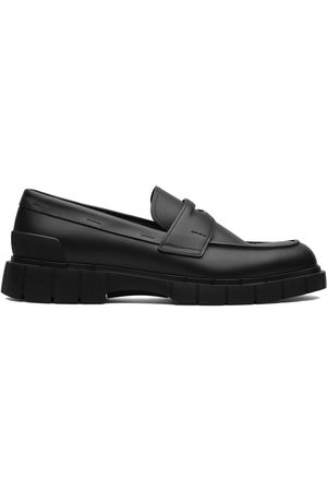 adidas Slip-on calf leather loafers