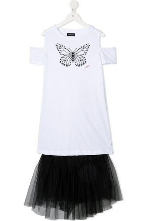 adidas Butterfly tulle T-shirt dress