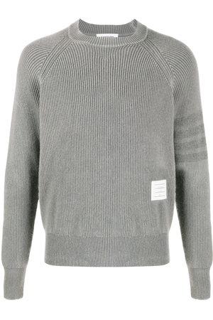 adidas Garment-dyed 4-bar pullover - Grey