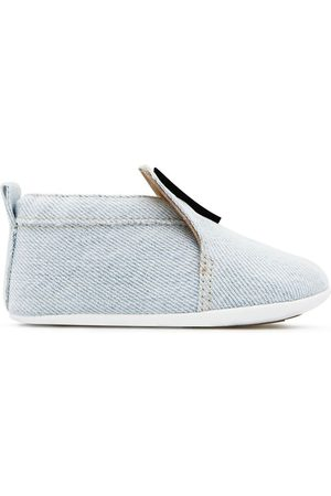 adidas Logo-appliqué denim shoes