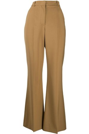 Joseph Women Formal Pants - High-waisted flared tailored trousers - Neutrals