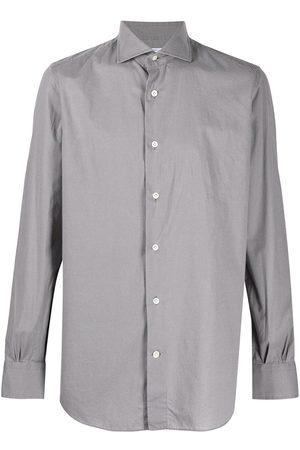 adidas Plain button shirt - Grey