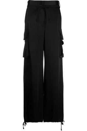 Ann Demeulemeester Drawstring-waist cargo trousers