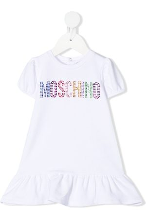 adidas Rhinestone logo T-shirt dress