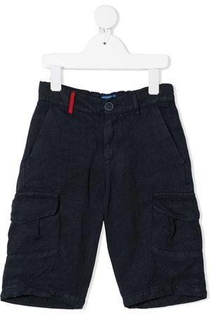 adidas Straight-leg linen bermuda shorts