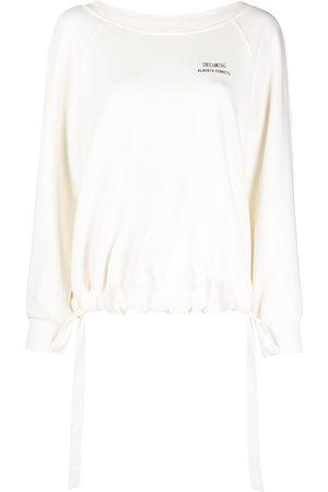 adidas Dreaming drawstring-hem sweatshirt