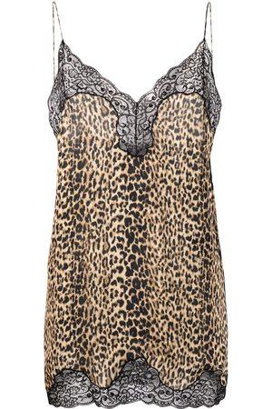 adidas Leopard-print camisole top - Neutrals