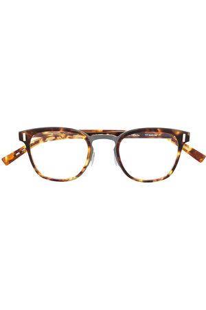 adidas Square-frame tortoiseshell effect glasses