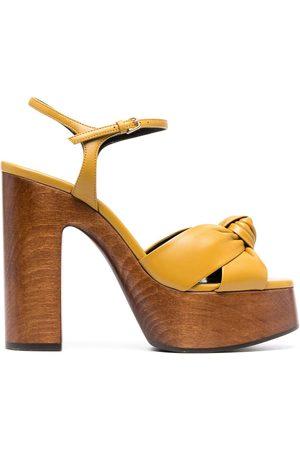 adidas Bianca knotted-strap platform sandals - Neutrals