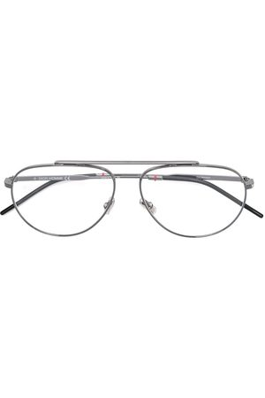adidas Oval frame glasses - Metallic