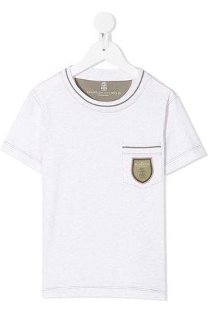 adidas Logo patch T-shirt