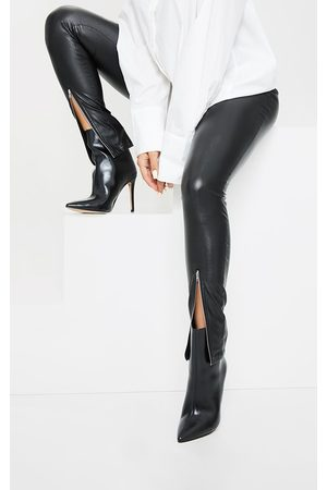 adidas Wide Fit Mid Heel Pointed Ankle Boots
