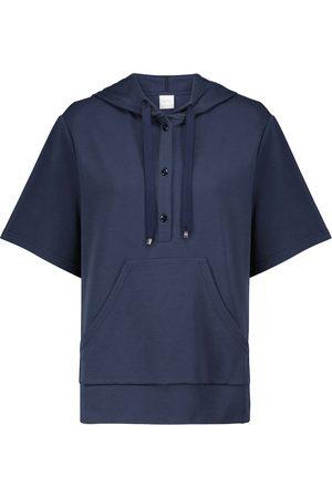 adidas Leisure Milord cotton-blend hoodie