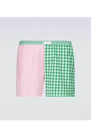 adidas Wide striped boxer shorts