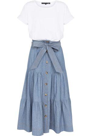 adidas Emmitt stretch-cotton midi dress