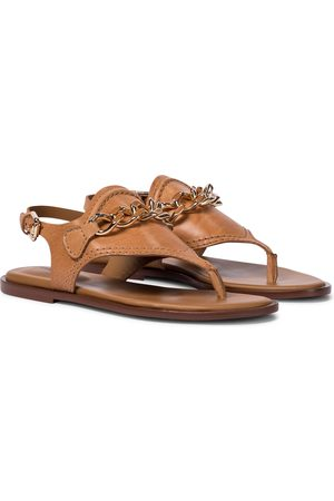 adidas Mahe leather thong sandals