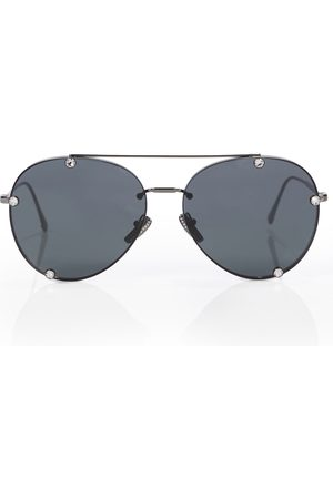 adidas Embellished aviator sunglasses