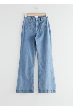 adidas Flared High Waist Jeans