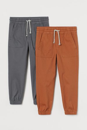 adidas Kids Tracksuits - 2-pack Twill Joggers