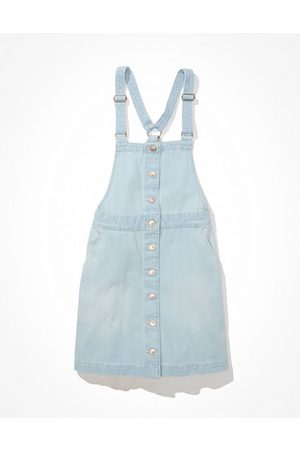 American Eagle Outfitters Denim Dress Overall Women's S