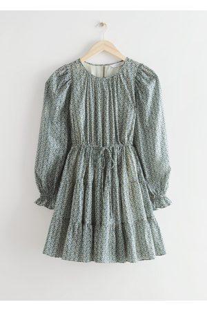 & OTHER STORIES Women Party Dresses - Voluminous Twill Mini Dress